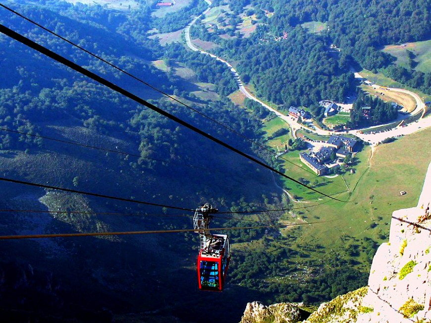 Cable Car of Fuente De